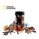 원형버켓 공룡 모형 피규어 교육 완구 피규어 장난감