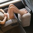 지동차 여행용 뒷좌석 에어 발매트 다리쿠션 받침대