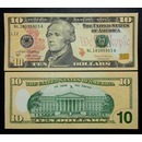 미국 10달러 지폐 2017년 해밀턴 10불(unc)